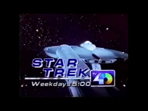 KTXL 40 STAR TREK PROMO (1984)