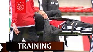 Zware blessure De Boer tijdens training