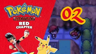 Pokemon Adventures Red chapter -EP2-PIKACHU IS MY BOY!!!! -rom hack (BETA14.D5)HINDI