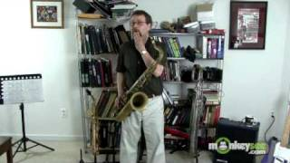 Common Difficulties with Low Notes on the Saxophone