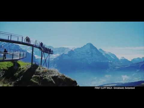 FIRST CLIFF WALK - Grindelwald, Switzerland 2016