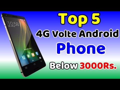 Top 5 Android 4G Volte Phone Below 3000 Rupees