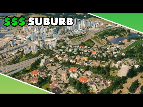 Building a very expensive suburb in Cities: Skylines | Vanilla Assets | Dream Bay Ep.15 |
