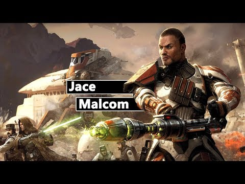Jace Malcom - Der Republik Trooper, der einen Sith Duellieren konnte!