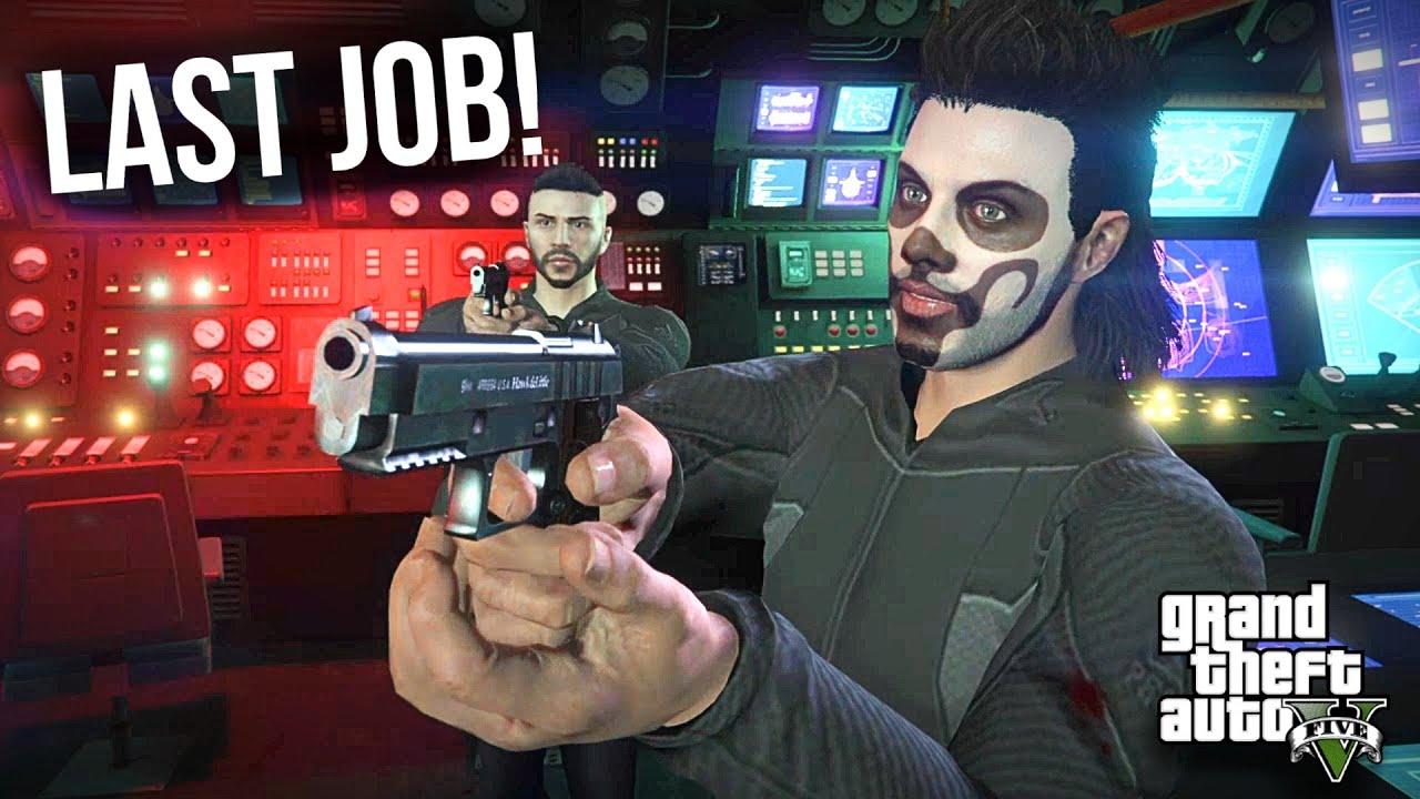 DESTROYING THE RUSSIAN SUBMARINE! 'BIKER GANG LAST JOB'   GTA 5 ONLINE