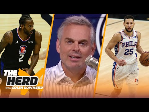 Everyone's watching Ben Simmons deteriorate, talks Clippers tying series — Colin   NBA   THE HERD