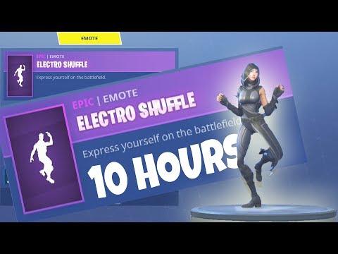 FORTNITE *New* FATE Skin ELECTRO SHUFFLE 10 Hours