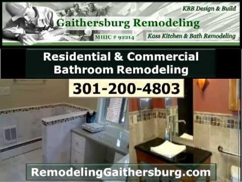 Bathroom Remodeling Gaithersburg Call Bath - Gaithersburg bathroom remodeling