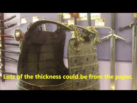 Antique Japanese Samurai Armour. How was it made?