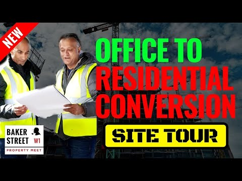 Property Development For Beginners | Commercial Property Office Conversion To Residential