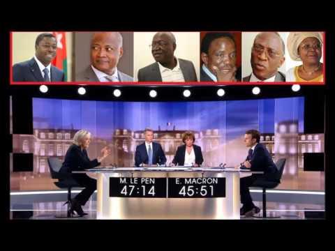 Débat Macron vs Le Pen: pourquoi au Togo Faure et les opposants ont peur du debat public