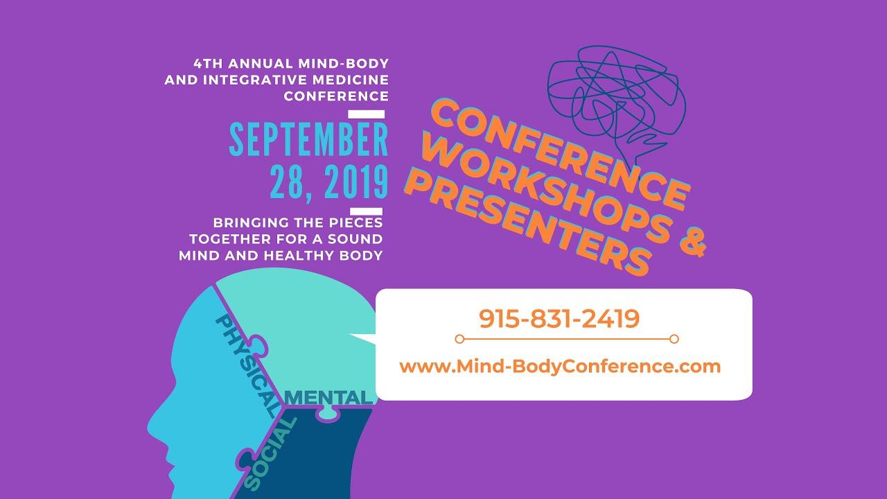 Presenter for Mind-Body and Integrative Medicine Conference
