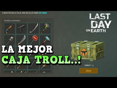 LA CAJA TROLL MAS BESTIA QUE ME SALE | LAST DAY ON EARTH: SURVIVAL | [RidoMeyer]