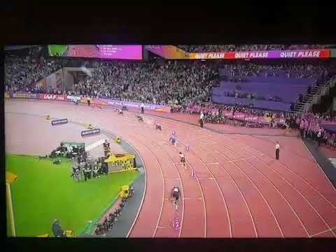 Great Britain win 4 x 100 metres relay Gold medal in World Athletics Championships 2017