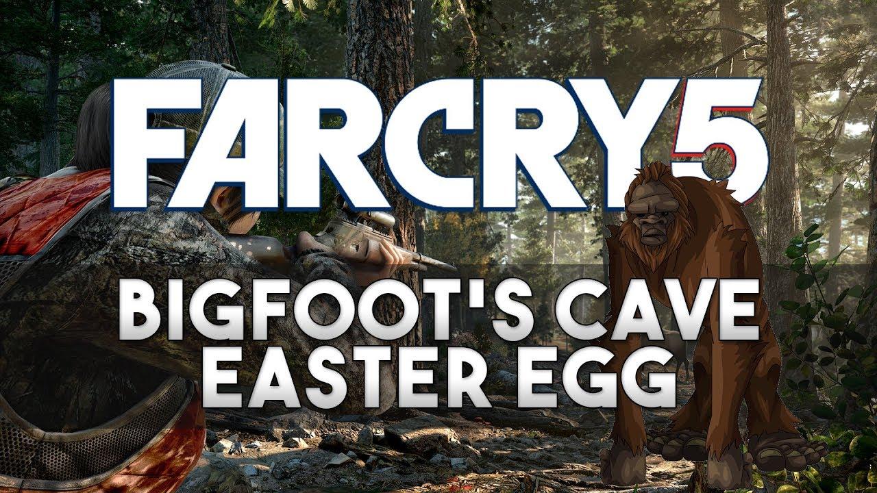 Man Cave Far Cry 5 Walkthrough : Far cry bigfoot s cave easter egg youtube