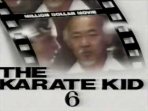 "WPVI TV Channel 6 (Philadelphia PA) - ""Million Dollar Movie"" title card - The Karate Kid - 1990"