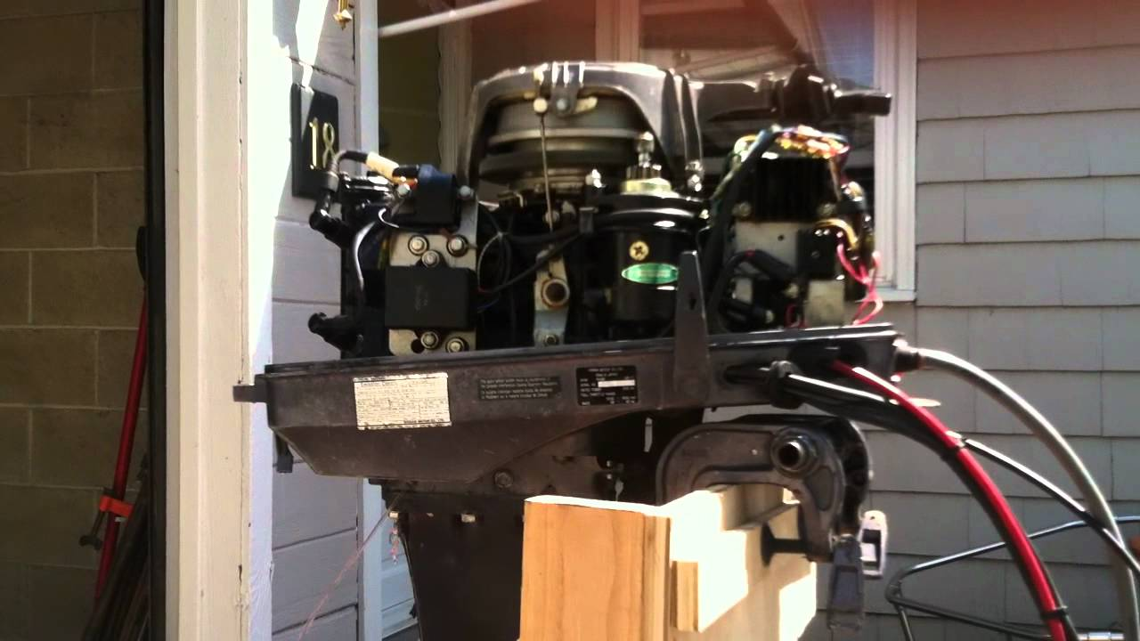 1998 40hp Nissan Outboard For Sale Running Youtube