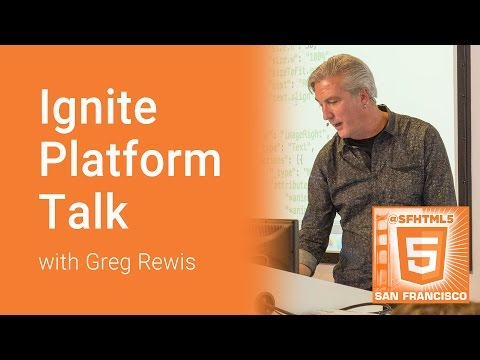 Ignite Platform with Greg Rewis