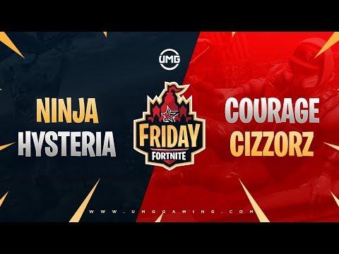 Ninja & Hysteria Vs CouRage & Cizzorz | Friday Fortnite Week 8 | Losers Semifinals
