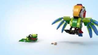 LEGO Creator - 31031 Zwierzęta z lasu deszczowego