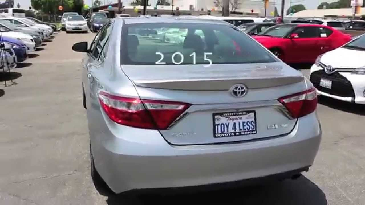great mileage new 2015 toyota camry hybrid silver luxury 888 718 3693 los angeles area customers. Black Bedroom Furniture Sets. Home Design Ideas