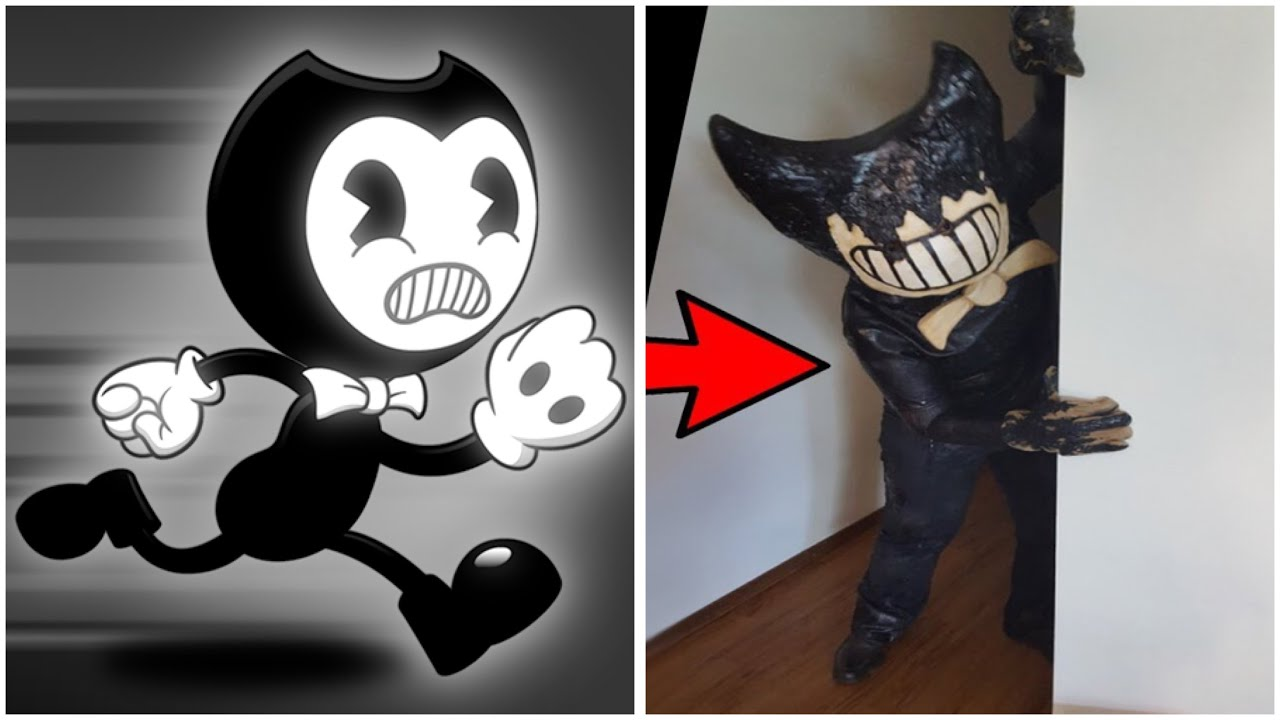 Bendy In Real Life !