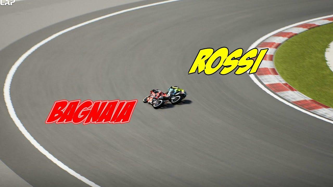 Rossi vs Bagnaia Vs Joan Mir   Sepang Malaysia MotoGP 2021 Video Game