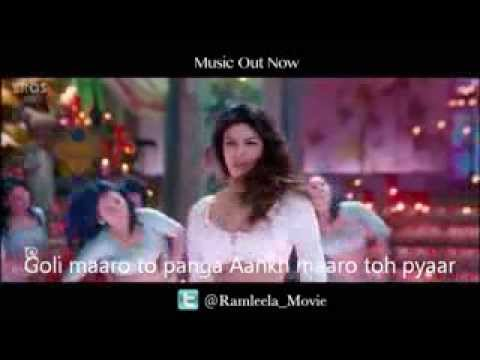 Ram Chahe Leela Song With Lyrics Movie Goliyon Ki Raasleela Ram Leela