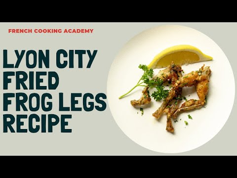 Lyon style frog legs recipe step by step | Cooking tutorial