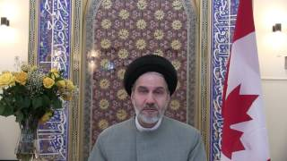 "The Message of Grand Ayatollah Hosseini Nassab, supporting ""Resolution of Peace"""