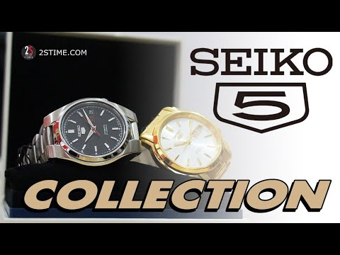 SEIKO 5 Collection - A Beautiful Watch To Dress Under 150$
