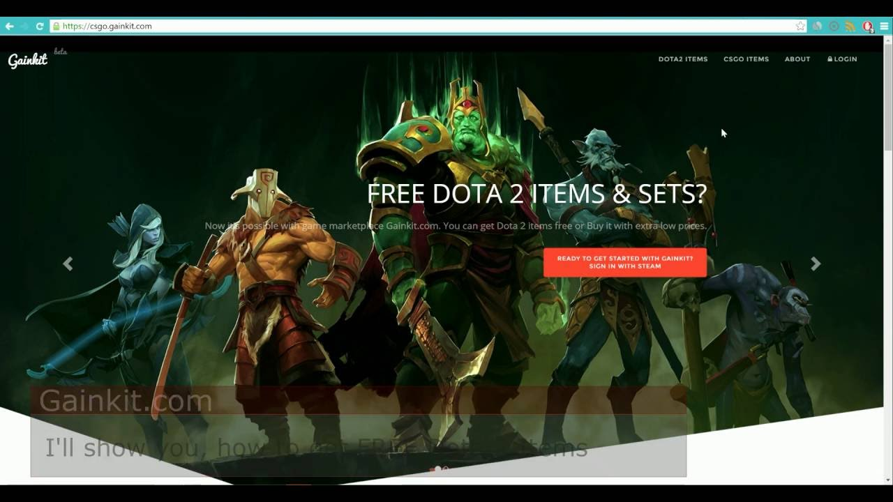 how to get free dota 2 items and sets youtube