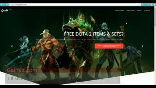 how to get free dota 2 items and sets