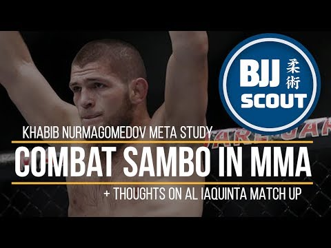BJJ Scout: Khabib Nurmagomedov Meta Study - Combat Sambo In MMA (+ Thoughts On Al Iaquinta Match Up)