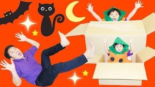 ★「ダンボールびっくり箱!」ハロウィンドッキリ~★Halloween Cardboard Jack-in-the-Box★ thumbnail