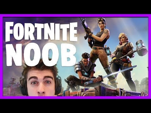 FORTNITE BATTLE ROYALE: A NOOB PLAYS FOR THE FIRST TIME - FORTNITE BR MULTIPLAYER GAMEPLAY (PC)