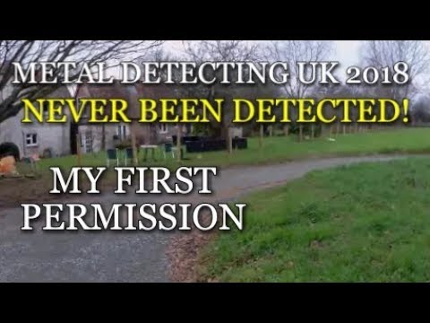 METAL DETECTING UK 2018, My first permission
