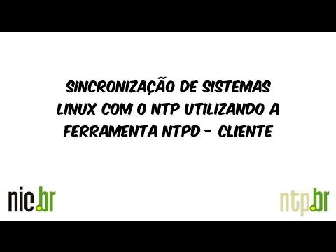 Sincronização de sistemas Linux com o NTP utilizando o NTPD via repositório - Cliente