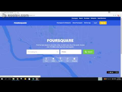 How to add business in foursquare
