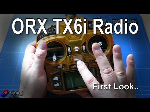 First Look: Orange Tx6i DSM2/X Radio