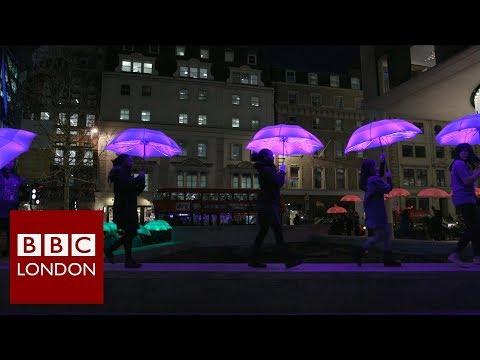 London's light festival – BBC London News