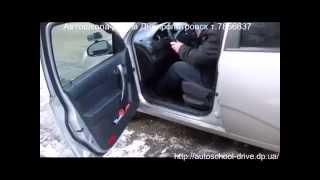Работа сцеплением - урок частного автоинструктора в Днепропетровске Сакаева Александра.