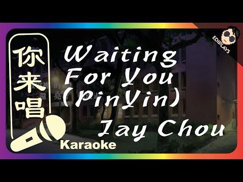 (你来唱)Deng Ni Xia Ke-Jay Chou (Waiting For You) PINYIN VERSION 伴奏/伴唱 Karaoke 4K video
