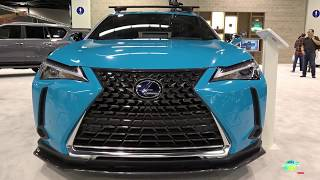 2019 lexus UX 250h Exterior Walk around - 2018 OC Auto Show