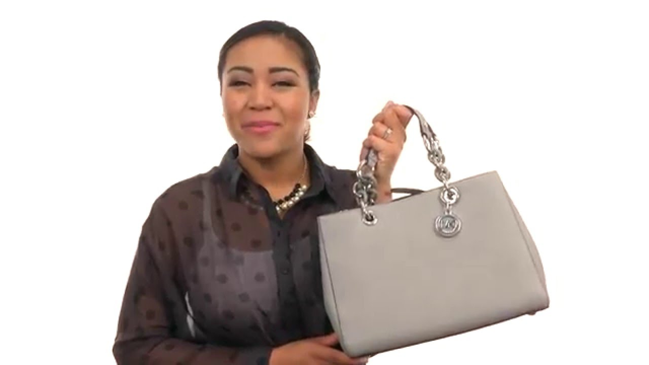 f1e592d71ada MICHAEL Michael Kors Cynthia Medium Satchel SKU:8644452 - YouTube