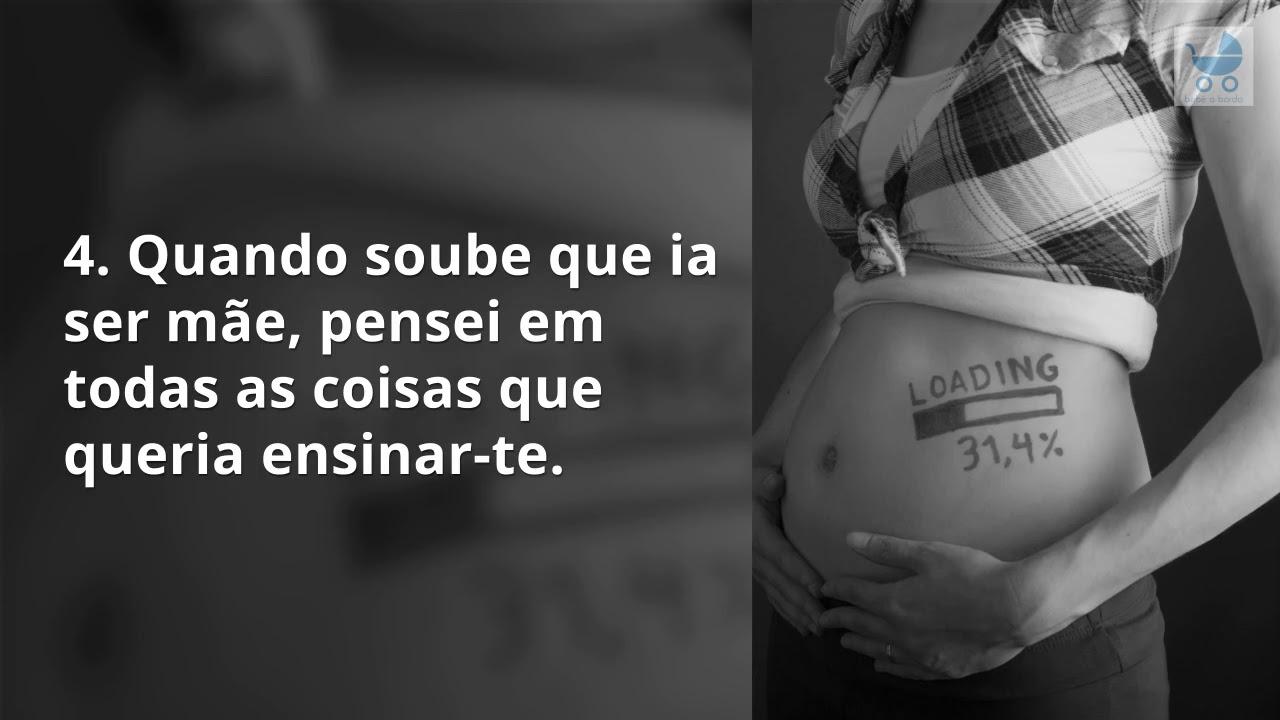 12 Frases De Grávida Para Seu Bebé