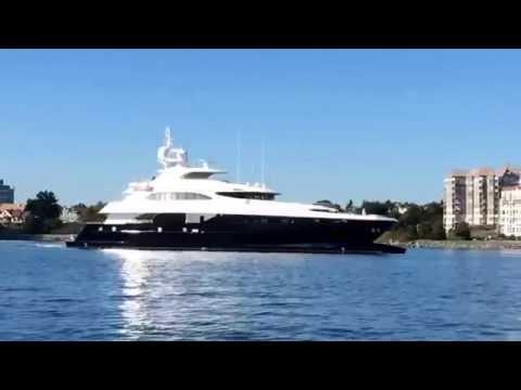 Zenith Yacht entering Victoria BC Harbour