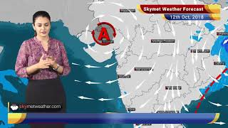 Weather Forecast for Oct 12: CycloneTitliweakens into a Depression; heavy rains in Odisha, WB