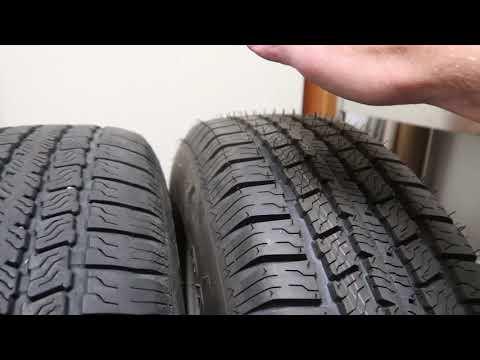 Weight Comparison: Goodyear Endurance vs. Dynatrail ST tires