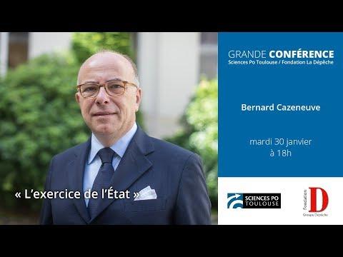 """Conférence de Bernard Cazeneuve - """"L'exercice de l'État"""""""